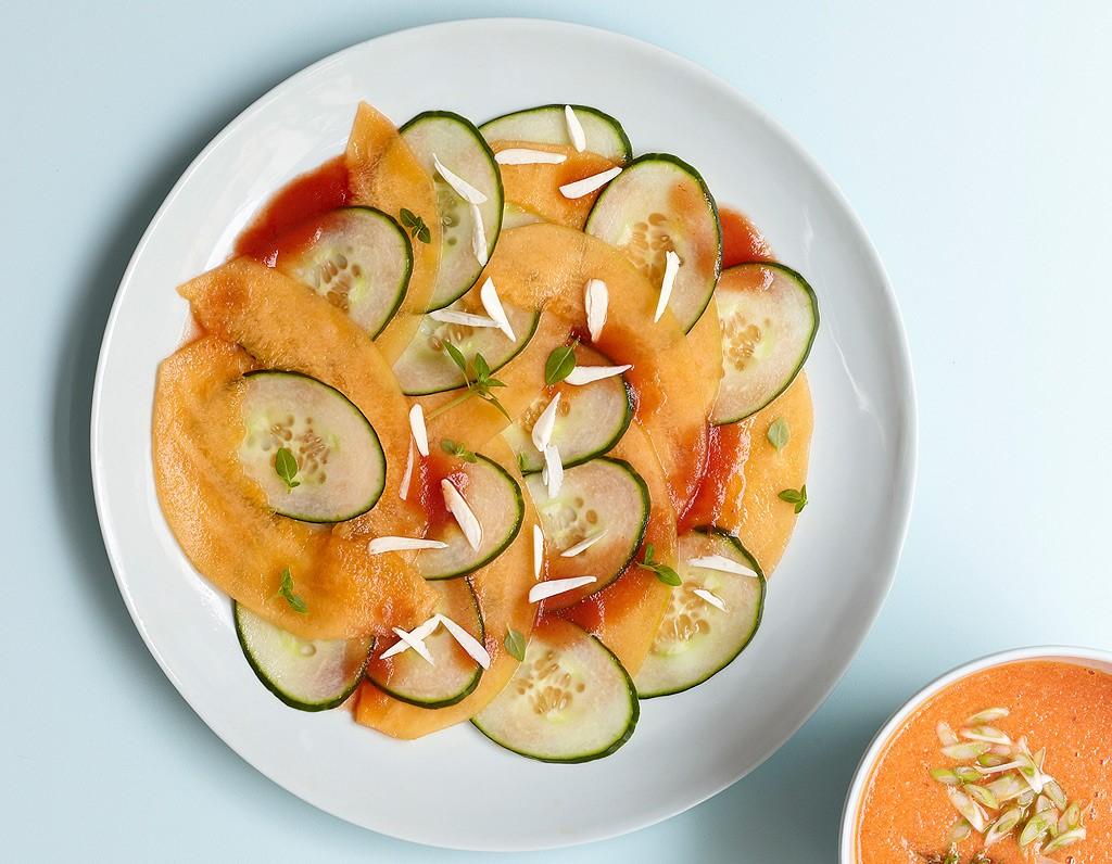 Carpaccio-melon-concombre