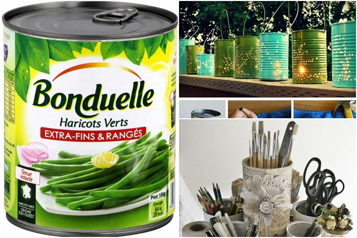 21 id es pour recycler vos boites de conserve for Customiser des boites de conserves