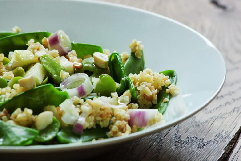 10 recettes de salades pauvres en calories - Salade verte calorie ...