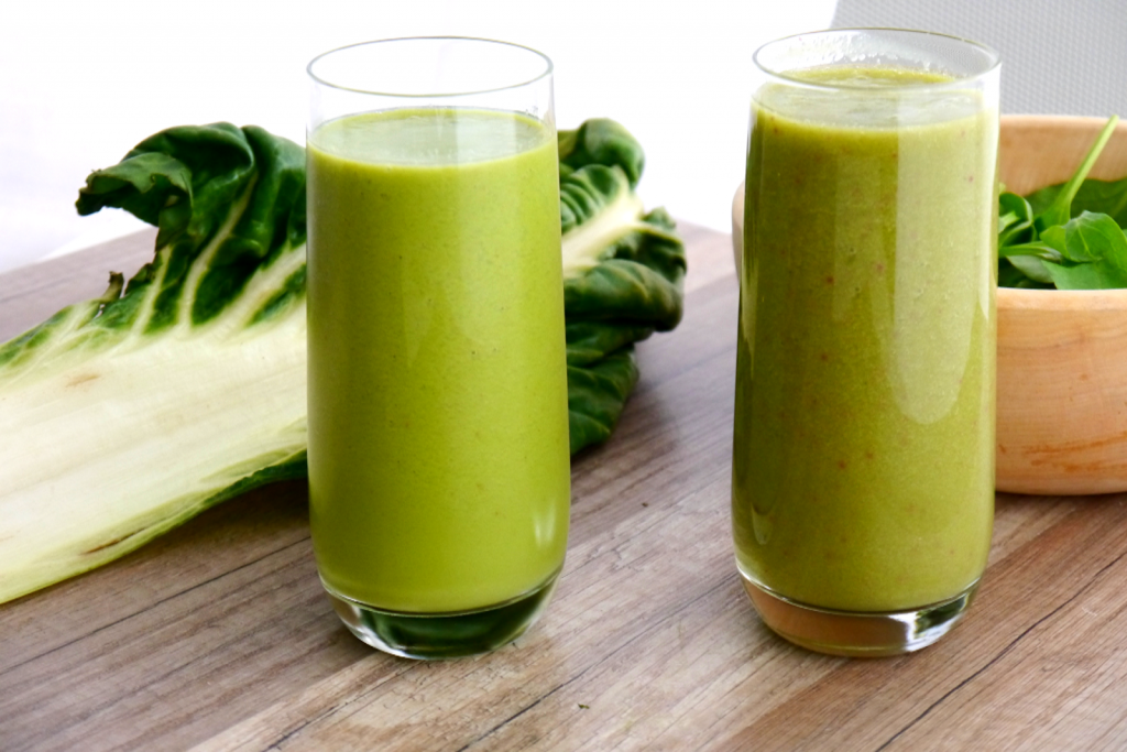 Smoothie détoxication au brocoli